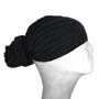 Black Head Wrap / Bandana Wrap / Bandana