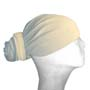 Cream Head Wrap / Bandana Wrap / Bandana