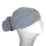 Light Grey Head Wrap / Bandana Wrap / Bandana