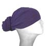 purple head wraps