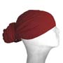 wine red head wraps