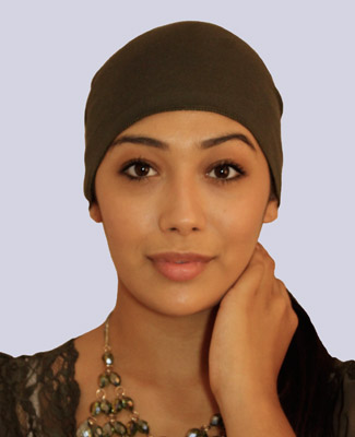 Army Green Head Wrap on 1 Tr