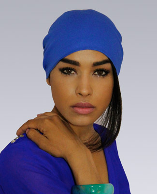 Egyptian Blue Head Wrap on 1 Tl