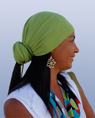 Mint Green Head Wrap on 1TL