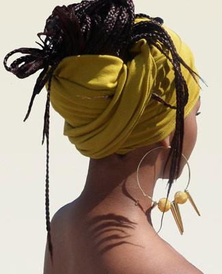 Mustard Head Wrap on 3BL