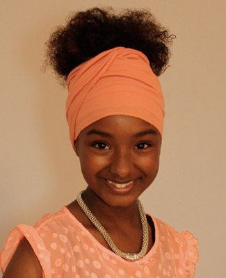 Peach Head Wrap on 2 Tr