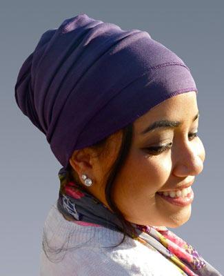 Purple Head Wrap on 3BL