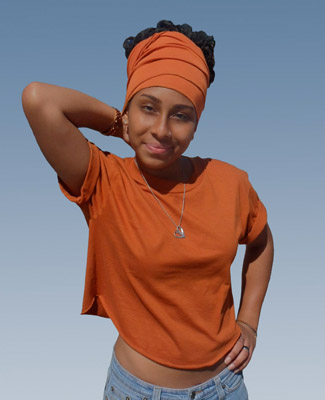 Rust Head Wrap on 1 Tl