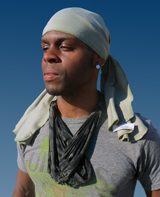 Cotton Sage Head Wrap   Bandanas   Bandanas   Do-Rags for men and ... 4c7abd86cdb