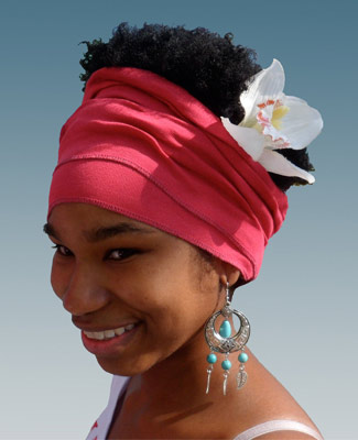Watermelon Head Wrap on 2TR