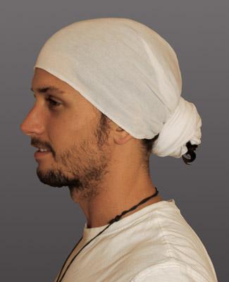 White Head Wrap on 1 Tl