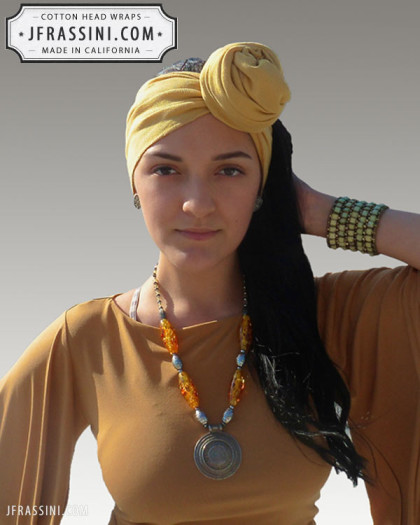 camel head wrap