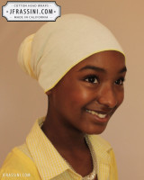 light yellow head wrap