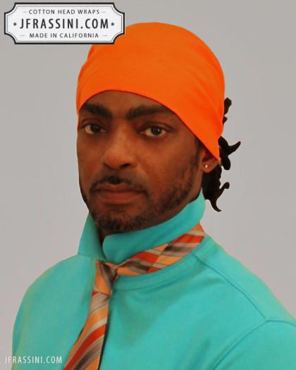 orange head wrap