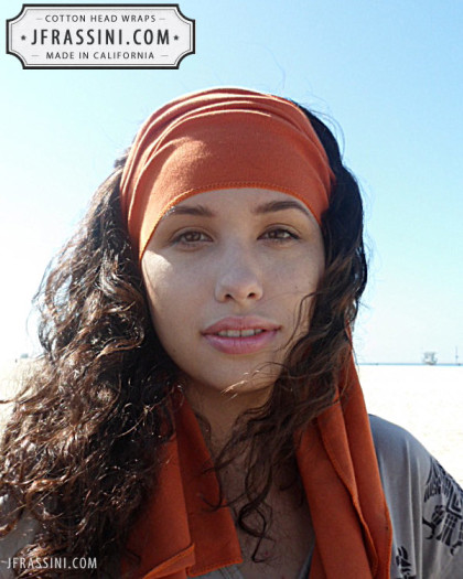 rust head wrap