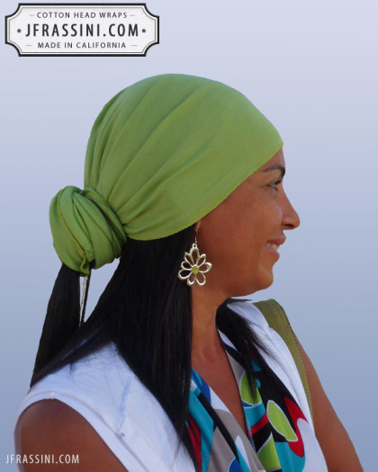 mint green head wrap