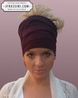 plum head wrap