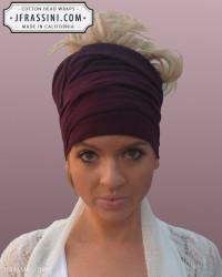 plum head wrap